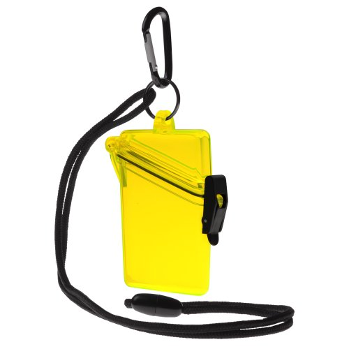 Witz See It Safe Waterproof Case, Yellow