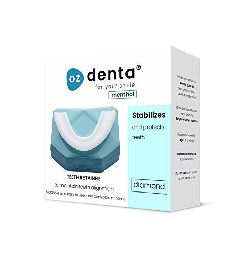 Menthol Retentionsschiene Aufbissschiene Zahnschutz beim nächtlichen Zähneknirschen Knirscherschiene Zahnschiene 100% ige Zufriedenheitsgarantie