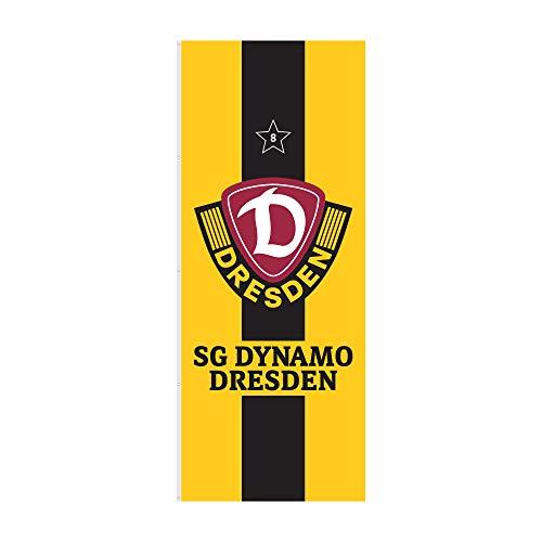 SG Dynamo Dresden Hissfahne Stern 120 x 300 cm