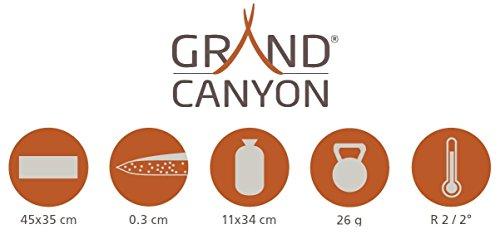 GRAND CANYON Aluminium Sitzkissen - Alu-Isoliermatte, Thermomatte, 44 x 34 cm, 305004