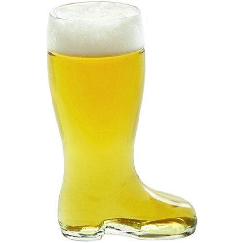 Stolzle Bierstiefel Half Liter Glass Beer Boot, Garden, Haus, Garten, Rasen, Wartung