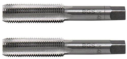 BGS 1900-M14X1.5-B Gewindebohrer M14x1.5, Vor-& Fertigschneider, 2-TLG, M14 x 1.5