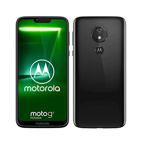 moto g7 power Dual-SIM Smartphone (5000mAh Akku, 6,2 Zoll Display, 12-MP-Kamera, 64GB/4GB, Android 9.0) Ceramic Black