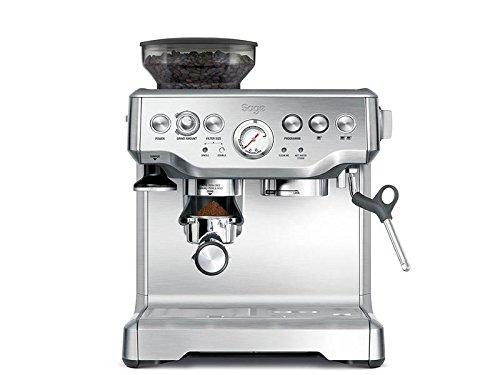 Sage Appliances Espresso-Maschine, mit Drehregler und Druckanzeige