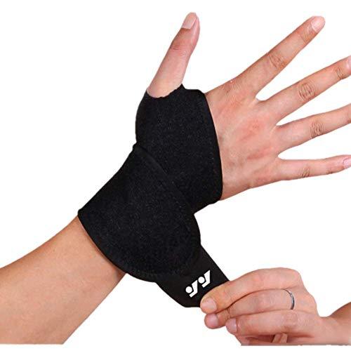 DSTong Handgelenk Bandagen Handgelenk stützung, Handgelenkbandage für Fitness, Bodybuilding, Kraftsport & Crossfit - für Frauen und Männer (Style 1/1pack)