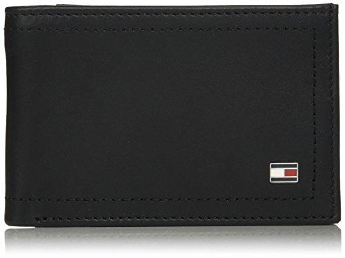 Tommy Hilfiger Herren HARRY MINI CC COIN POCKET WALLET Geldbörse, Schwarz (Black), 0.1x1x0.1 cm