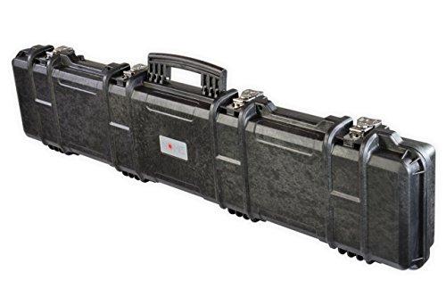 NOMIS Gewehrkoffer Waffenkoffer Gun Case 125x30x13cm staub- wasserdicht schwarz