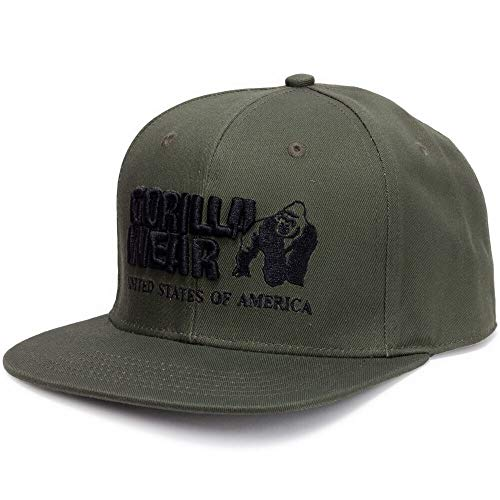 Gorilla Wear Dothan Cap - armeegrün - Bodybuilding und Fitness Accessoires für Herren und Damen