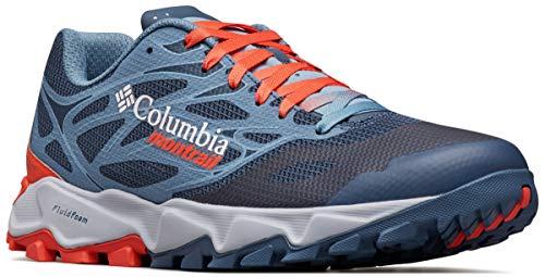 Columbia Herren Trans Alps F.K.T. II Trail Schuhe, Blau (Zinc, Red Quart 492), 43 EU