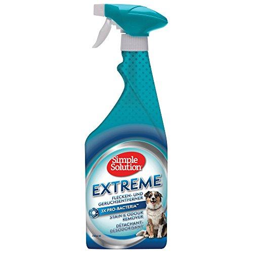 Simple Solution Extreme Hunde Flecken und Geruchsentferner 750 ml