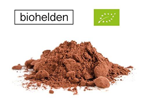 Bio Kakao Pulver 1kg Stark Entölt Biohelden Kakaopulver 1000g