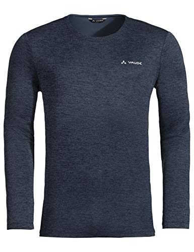 Vaude Herren Men's Essential LS T-Shirt, Langarmshirt, Wandershirt Eclipse, 50