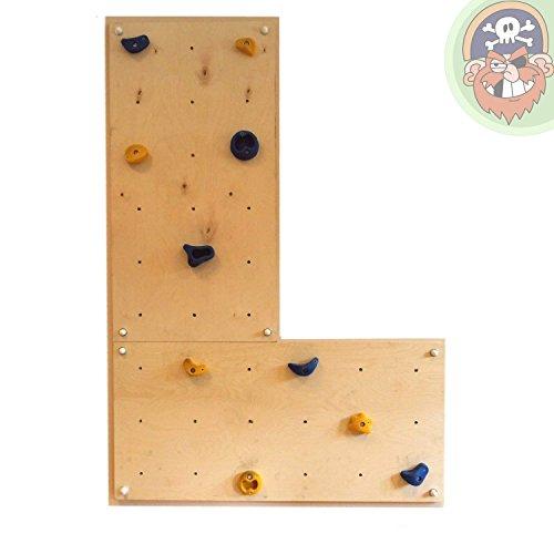 Indoor Kletterwand IW2 Kinder-Klettern im Haus Wohnung Kinderzimmer von Gartenpirat