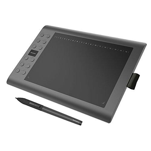 GAOMON M106K - Profi Grafiktablett mit Kabellosem Stift