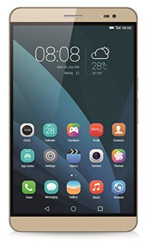 Huawei Mediapad X2 Tablet-PC (17,8 cm (7 Zoll) LTPS-Display, 1,9 GHz-Octa-Core-Prozessor, 13 Megapixel-Kamera, 32 GB interner Speicher, Android 5.0 ) gold