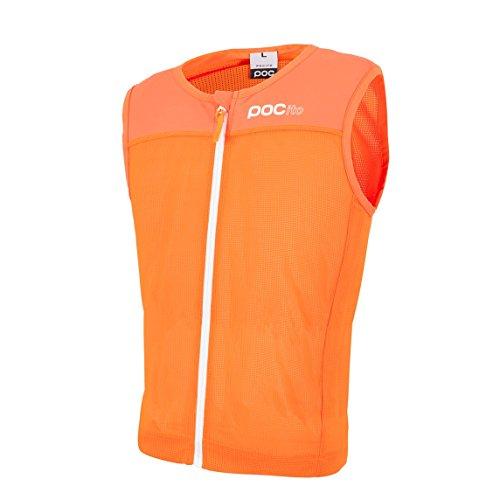 POC POCito Spine Vest VPD - Rückenschutz, Kinder, Fluoreszierend orange, S