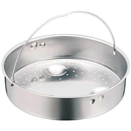 WMF Schnellkochtopf Einsatz, Dünsteinsatz, gelocht, für Ø 20 cm, Cromargan Edelstahl, spülmaschinengeeignet