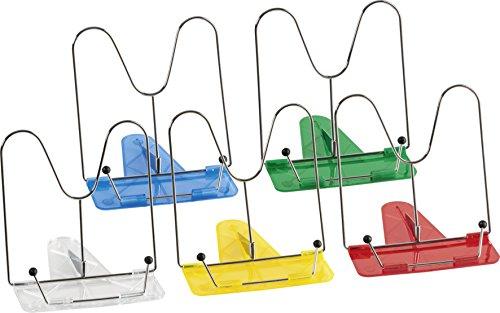 Brunnen 1040400 Leseständer Kunststoff (sortiert in weiß, gelb, rot, blau, grün)