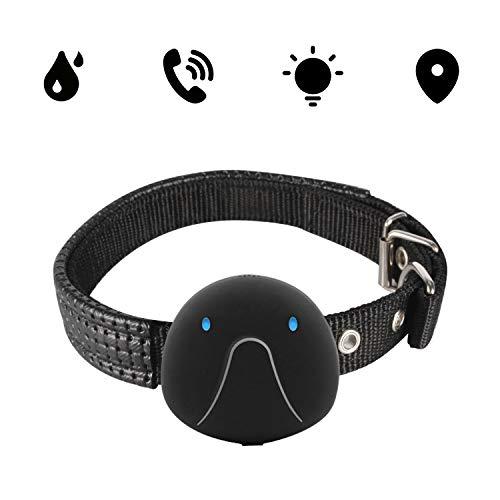 OOPPEN GPS Gerät Hunde-GPS-Tracker mit App. Die leichte und wasserdichte Hund-GPS Tracker Haustier-schwarz