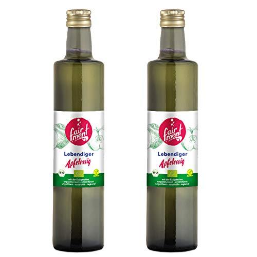 Fairment Apfelessig - bio, naturtrüb, mit der Mutter (1 Liter)