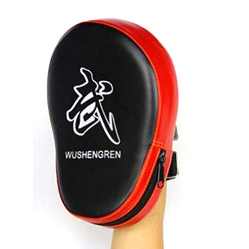 ghfcffdghrdshdfh PU Boxing Mitt MMA Target Hook Jab Focus Punch Pad Safety MMA Training Gloves