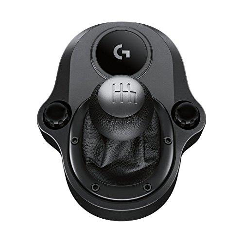 Logitech Driving Force Shifter Schalthebel für G920 und G29 Racing Lenkräder, schwarz