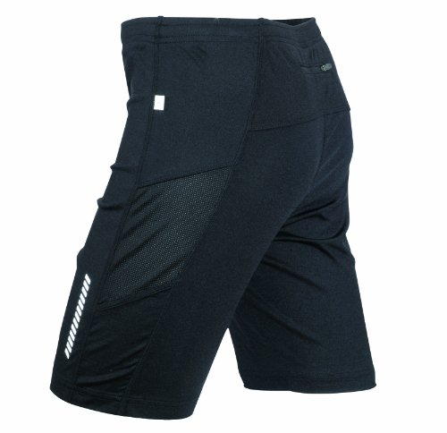 James & Nicholson Herren Sport Legging Running Short Tights schwarz (black) X-Large