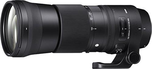 Sigma 150-600 mm F5,0-6,3 DG OS HSM Contemporary (95 mm Filtergewinde, für Canon Objektivbajonett) schwarz