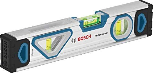 Bosch Professional Wasserwaage mit Magnetsystem (Länge: 25cm, in Blister)