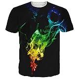 NEWISTAR Unisex 3D Druckten Sommer-beiläufige Kurze Hülsen-T-Shirts T-Stücke