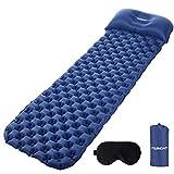 Tarent Isomatte/Aufblasbare Luftmatte Ultraleicht Kleines Packmaß, Camping Matratze und Isomatten, Schlafmatte für Outdoor, Reise, Strand