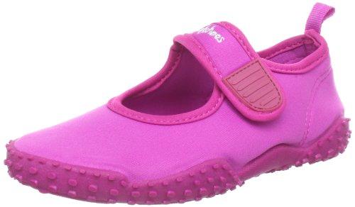 Playshoes Aquaschuhe, Badeschuhe klassisch mit höchstem UV-Schutz nach Standard 801 174797, Unisex-Kinder Dusch- & Badeschuhe, Pink (pink 18), EU 22/23