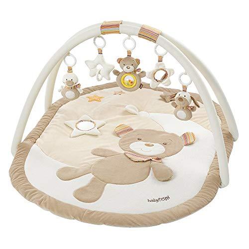 Fehn 3-D-Activity-Decke / Spielbogen mit abnehmbaren Spielzeugen für Babys Spiel & Spaß von Geburt an