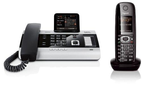Siemens Gigaset DX600A SET mit 1x C59H Mobilteil - ISDN, Anrufbeantworter, Bluetooth ECO DECT