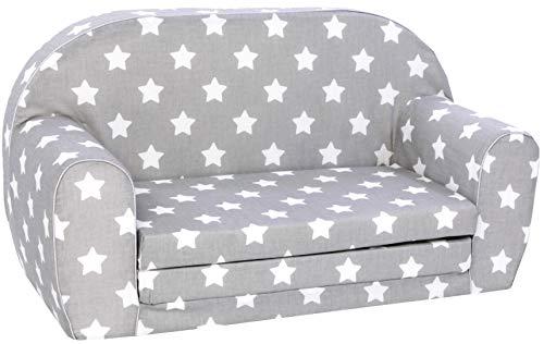 KNORRTOYS.COM 68441 Knorrtoys 68441-Kindersofa Kindersofa, Stars White