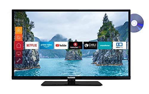 Telefunken XH32G511D 81 cm (32 Zoll) Fernseher (HD-Ready, Triple-Tuner, Smart TV, Prime Video, DVD-Player)