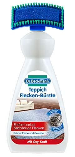 Dr. Beckmann Teppich Flecken-Bürste (1x 650 ml) | Teppichreiniger zur Entfernung selbst hartnäckiger Flecken und Gerüche | inkl. Bürstenapplikator