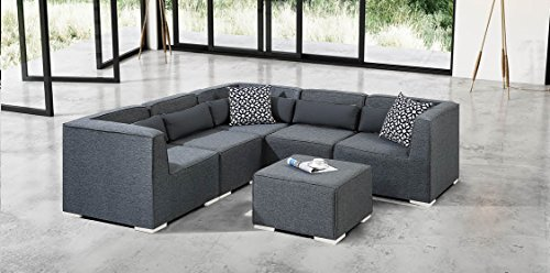 Modulsofa Ecksofa Lounge Wohnlandschaft Sitzgruppe Couchgarnitur