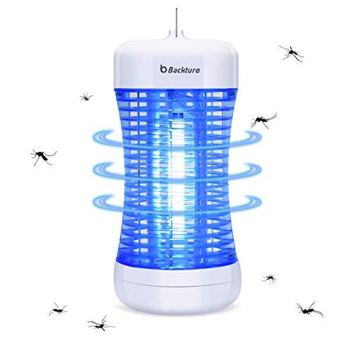 Backture Insektenvernichter, Elektrischer Mückenfalle UV Ungiftig Mückenlampe für Schlafzimmer, Badezimmer, Küche, Hotel usw. - Verwendung in Innenräumen