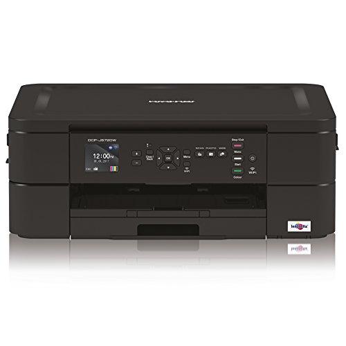 Brother DCPJ572DW 3-in-1 Tinten-Multifunktionsgerät 6.000 x 1.200 dpi mit Einzelblatteinzug und Speicherkartenstation