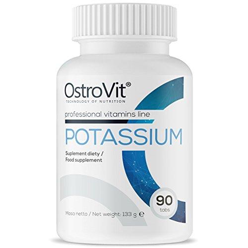 Potassium, 90 Tabletten Kalium-Citrat (vegan), 1050mg Tagesportion für 30 Tage, Monatspackung