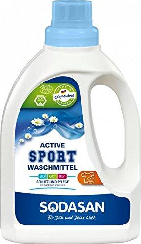 Sodasan Bio Sportwaschmittel active 750ml für Funktionskleidung und Goretex