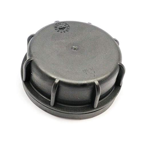 Deckel S60x6 - DIN 61 Voll-Polyethylen