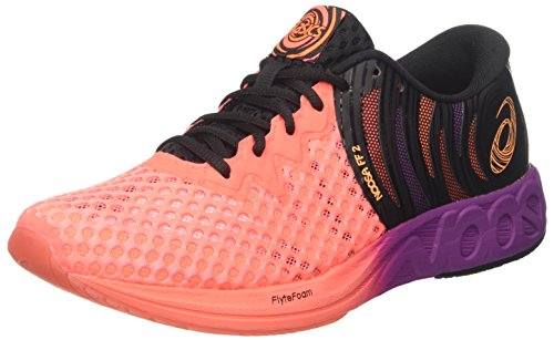 ASICS Herren Noosa FF 2 Triathlonschuhe, (Flash Coral/Shocking Orange/Black 0630), 44.5 EU