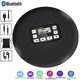 CCHKFEI Tragbarer Bluetooth-CD-Player mit LED-Anzeige, persönliche CD-Musik-Disc-Player für Kinder Studenten Erwachsene Bluetooth Walkman-CD-Player