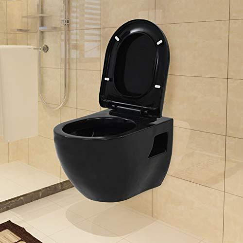 Tidyard- Keramik Wand-WC Wand-Tiefspül-WC | Toilette Hänge-WC Gäste-WC Keramik - WC