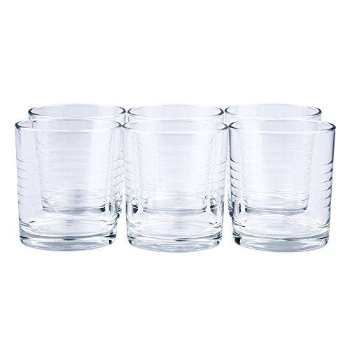 12 x Trinkglas / Saftglas / Wasserglas / Limoglas / Universalglas | Inhalt 240 ml