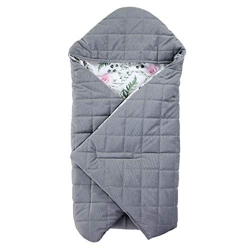 TupTam Baby Winter Einschlagdecke für Babyschale