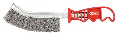 KS Tools 201.2301 Allzweck-Edelstahl-Drahtbürste, 250 mm