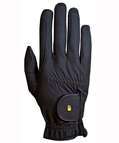Roeckl Roeck Grip Handschuh, Unisex, Reithandschuh, Schwarz, Größe 8